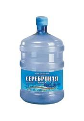 Природная артезианская питьевая вода 19 л. : Кристальная,  Серебряная