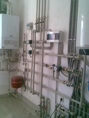 Водопровод. Канализация. Отопление.Теплый пол