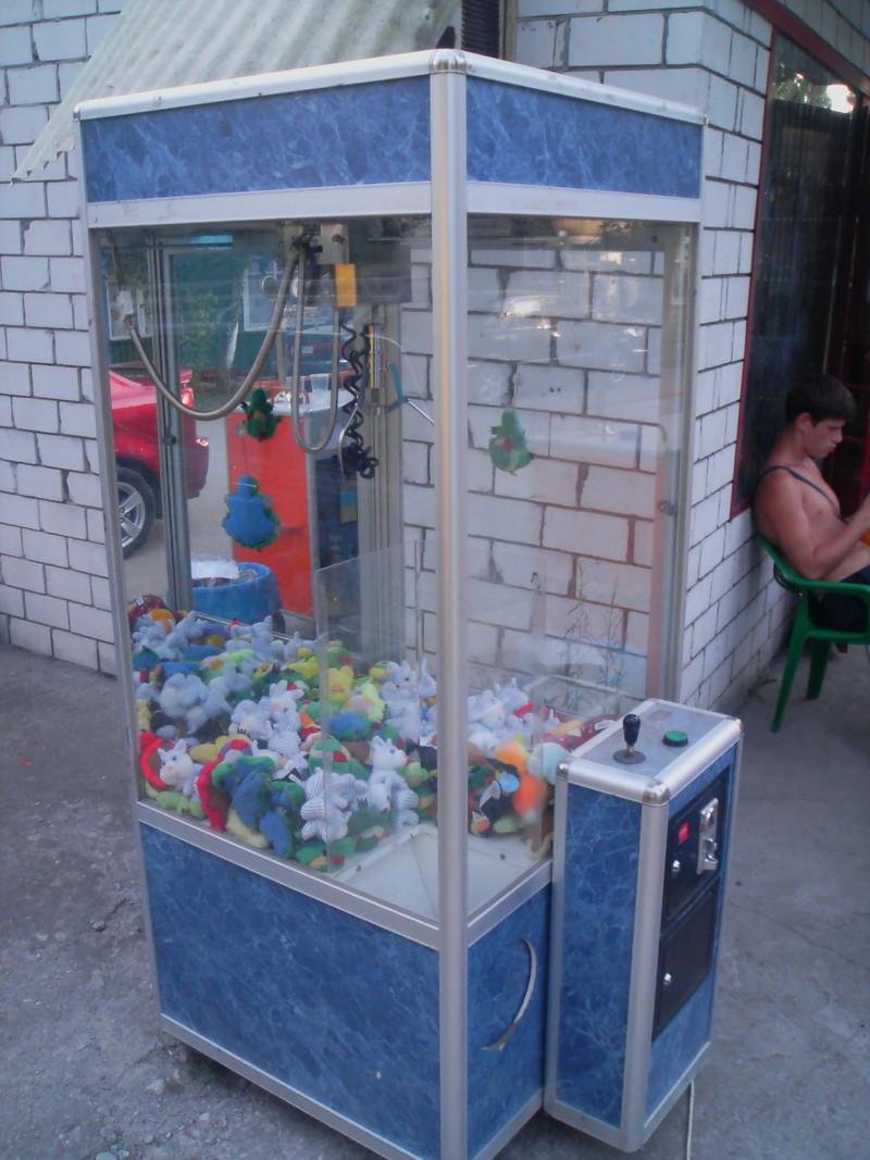 Автомат с игрушками кран машина купить