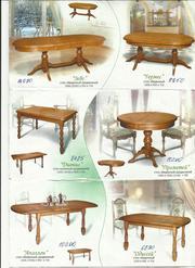Мебель из Белоруссии. Столы и стулья