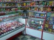 Прилавки стеллажи витрины для магазина и аптеки