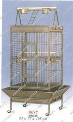 18 Клетка для птиц 82*77*168 см