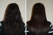 Кератиновое выпрямление волос в Сочи
