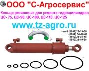 Кольца резиновые для ремонта гидроцилиндра ЦС-90