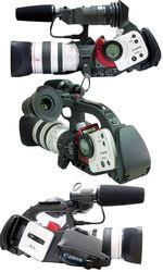 Две видеокамеры Canon XL1