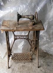 напольная швейная машина Singer 1908 г