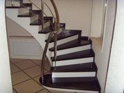 Лестницы из высококачественной древесины твердых пород