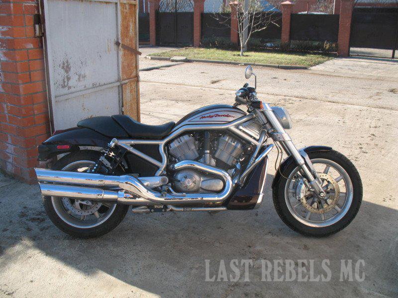 Harley-Davidson Street-Rod 2005 года выпуска