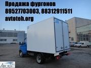 Платформы бортовые,  еврофургон,  установка фургона кузов на Газель