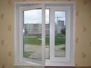 Окна, балконы из ПВХ,  остекление,  отделка. Двери входные металлические.