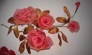 Курс изготовления художественных цветов из ткани