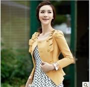 Первое кожи 2013 женщин весны Hitz кожаная куртка куртка женщин коротк