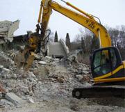 Демонтаж домов,  строений