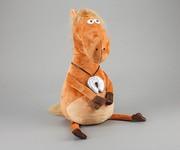 Плюшевая подушка-Лошадь с подковой