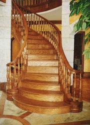 лестницы из дерева. Изготовление,  монтаж