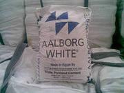 Белый цемент (М-600) Олборг Уайт,  Египет в мешках - 6500 руб/тонна