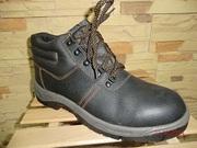 Ботинки для строителей специальные защитные кожанные МП оптом -дешево!
