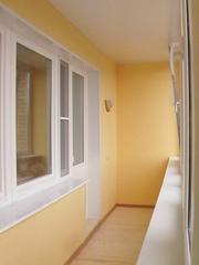 Балконы,  лоджии. Внутренняя отделка.