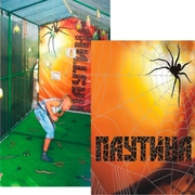 аттракцион паутина лабиринт