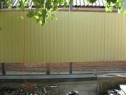 Заборы из профнастила,  сетки рабица,  решетчатые. Краснодар.