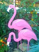 Фигуры для сада из пенопласта.