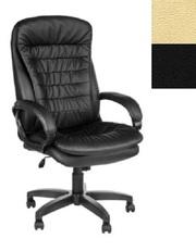 Кресло руководителя Силуэт. Цвет: черн. или бежев