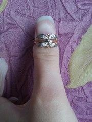 Продам золотое кольцо с бриллиантами 583 пробы
