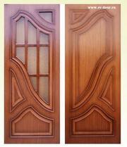 Двери Ковров - шпон,  оптом от производителя