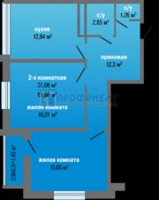 Продаётся квартира от инвестора дешевле цен подрядчиков