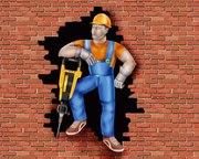 Демонтаж стен перегородок: бетонных,  кирпичных,  гкл.И.Т.Д. Краснодар