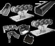 Качественные комплекты консольной фурнитуры для ворот до 400-800 кг.