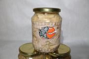 Снеки рыбные,  вяленая икра,  консервы