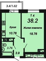 Продам квартиру недорого в новом кирпичном доме.