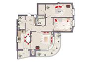 Продаю 3 комнатную квартиру с эксклюзивной планировкой.