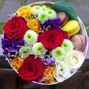 Доставка уникальных цветов и подарков в коробочках