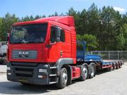 Перевозка негабаритных (крупногабаритных),  тяжеловесных грузов