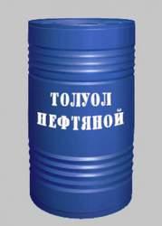 Толуол нефтяной ГОСТ 14710-78 ЛВЖ бочка 180-190 кг