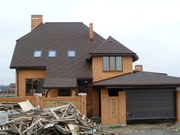 Строительство домов,  проектирование,  заливка фундамента