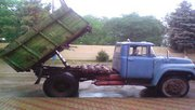 Доставка сыпучих смесей отсев песок гравер вывоз  мусора. Армавир.