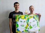 Изготовление портретов по фотографии,  в стиле поп-арт
