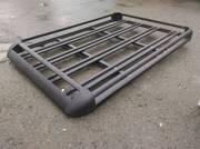 Багажник универсальный черный (корзина) на крышу 120х95 см (№072)