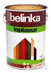 Топлазурь Белинка (Словения) для защиты и тонирования древесины.