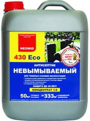 Неомид 430 есо-невымываемый антисептик-консервант для древесины.