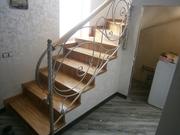 Отделка лестниц паркетом