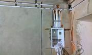 Монтаж электропроводки по дому