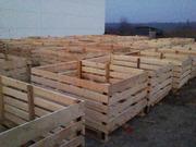 Изготавливаем и продаем деревянные евро контейнера для хранения фрукто