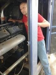 Установка генераторов,  компрессоров любой мощности;  гарант. обсл,  ремо