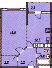 Продаю однокомнатную квартиру в Анапе с видом на море