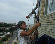 Промышленный альпинизм ,  высотные и верхолазные работы