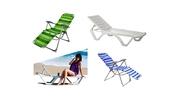 Шезлонги-лежаки, зонтики , столы и стулья,  мебель для санатория и д/отдыха .